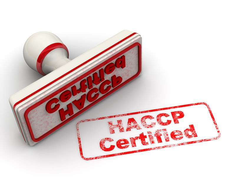 Traxgo - haccp certified. seal and imprint