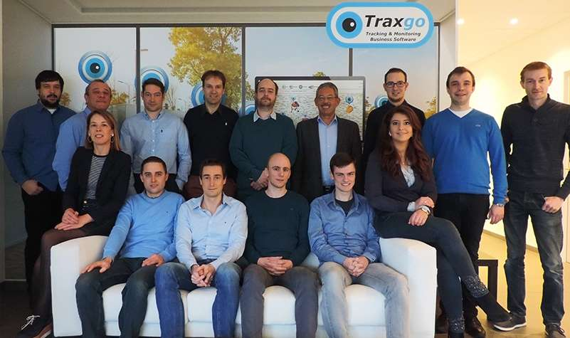 Groepsfoto Traxgo