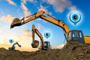 Tracking systeem voor machines